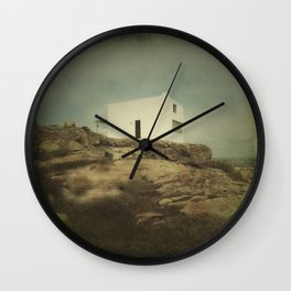 Once Upon a Time a Lonely House Wall Clock