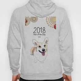 Year of the Dog - Corgi Hoody