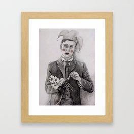 Pierrot  Framed Art Print