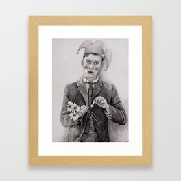 Pierrot  Framed Art Print