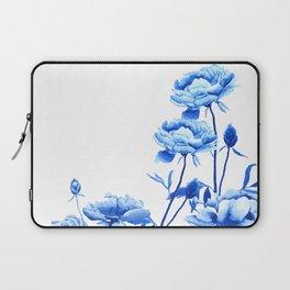 blue peonies Laptop Sleeve