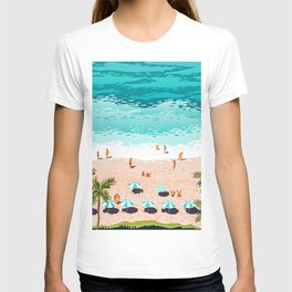 Dream in Colors Borrowed From The Sea #illustration T-shirt