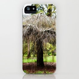 Just Hanging Around iPhone Case