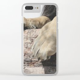 Look at Those Toe Beans, Man! Clear iPhone Case