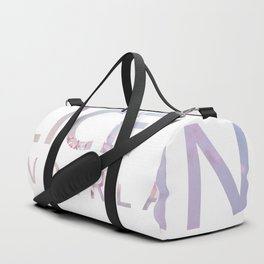 Alice in Wonderland Flowers Duffle Bag