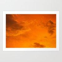 Cloudscapes V Art Print
