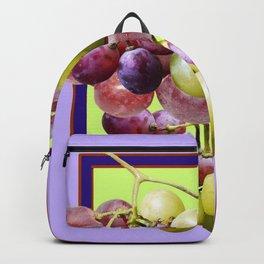CLUSTER WINE GRAPES VINEYARD DESIGN Backpack