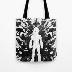 Ink Blot Link Kleptomania Geek Disorders Series Tote Bag
