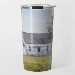 Church, Fort Clark, ND 4 Travel Mug