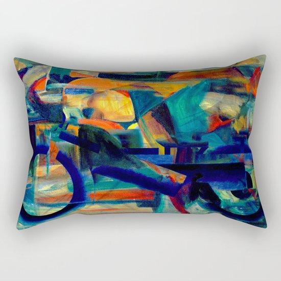 Café Racer Rectangular Pillow