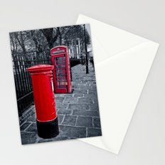 Red is the Colour Stationery Cards