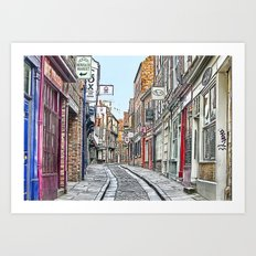 The Shambles - York Art Print