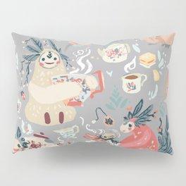 Tea Spirit pattern Pillow Sham