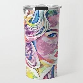 Chloë Grace Moretz (Creative Illustration Art) Travel Mug