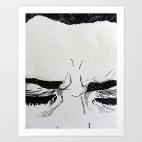 Sleepyhead Art Print