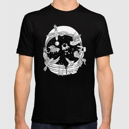 Depth of Discovery (A Case of Constant Curiosity-B/W) T-shirt