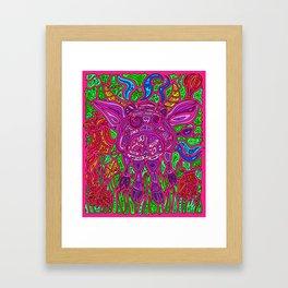 Magic Cow Framed Art Print