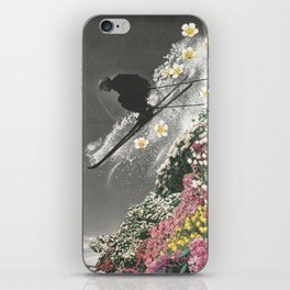 Spring Skiing iPhone Skin
