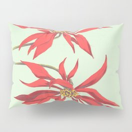 Joanne's Red Flowers Pillow Sham