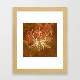 Sigil of the Bee Framed Art Print