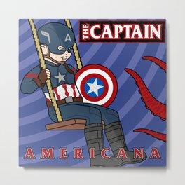 Captain Americana Metal Print