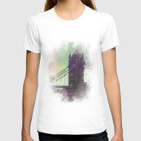bridge T-shirts featuring Bridge by Nechifor Ionut