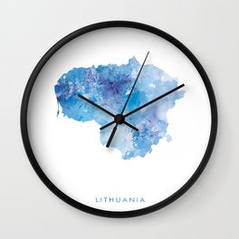 Lithuania Wall Clock