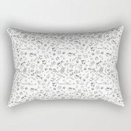Ocean Doodles Rectangular Pillow