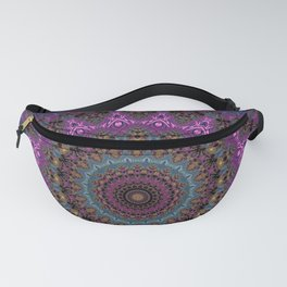 colorful fractal kaleidoscope Fanny Pack