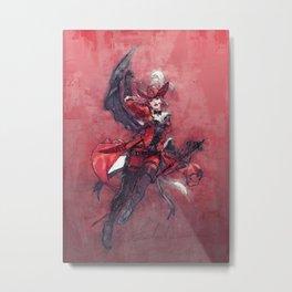 Final Fantasy character 1 Metal Print