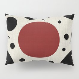 """Abstract Japanese Cow"" Pillow Sham"