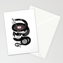 Snake One Eyed Stationery Cards