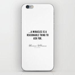 41  |  Marianne Williamson Quotes | 190812 iPhone Skin