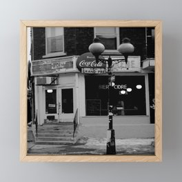Rue de Grand-Pre, Montreal Framed Mini Art Print