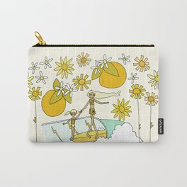 vitamin sea // mothers day // retro surf art by surfy birdy Carry-All Pouch