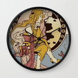 Ma Chere Nouveau Wall Clock