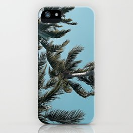 Perfect Sky Palms iPhone Case