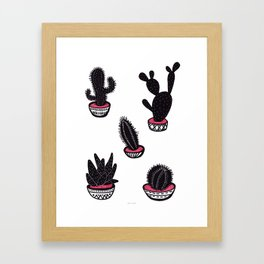 cactus collective Framed Art Print