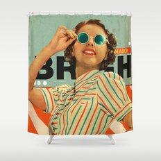 Bright Cinnamon Shower Curtain