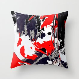 Things are getting Graphic Throw Pillow