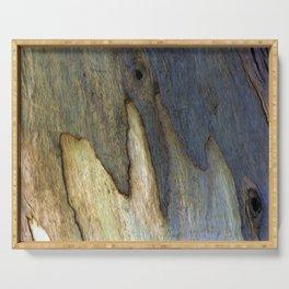 Eucalyptus Tree Bark 7 Serving Tray