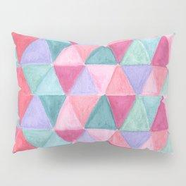 pastel triangle pattern Pillow Sham