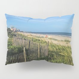 Myrtle Beach Boardwalk Pillow Sham