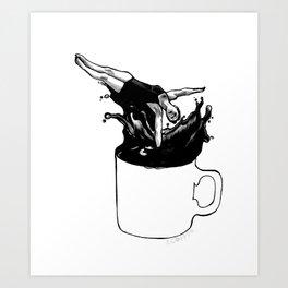 Mondays amirite? Art Print