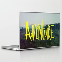 adventure Laptop & iPad Skins featuring Adventure by Leah Flores