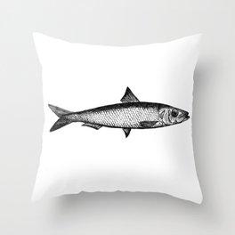 Sardine Throw Pillow
