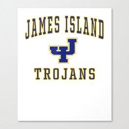 James Island High School Trojans - Camiseta C1 Canvas Print