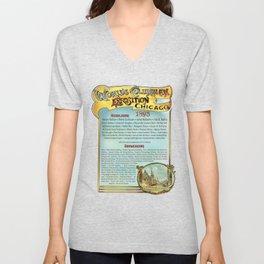 World's Columbian Exposition 1893 Unisex V-Neck