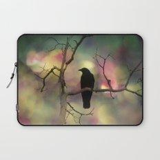 Crow Dreams In Colors Laptop Sleeve