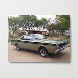 1979 Brazilian Model Only MOPAR Polara RT Rare Muscle Car Metal Print